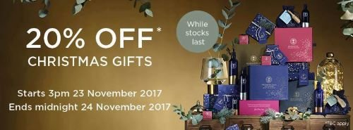 Just Be Black Friday offer – 20% off NYR Organic Gift Sets